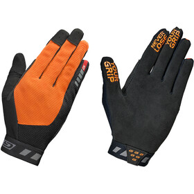 GripGrab Vertical InsideGrip Vollfinger-Handschuhe orange/schwarz